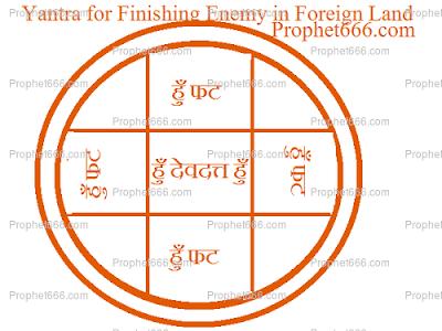 Ancient Hindu Remote Enemy Killing Chram