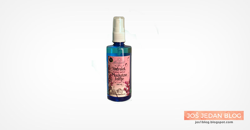 Marigold hidrolat muskatne žalfije, recenzija, utisci, prirodna kozmetika