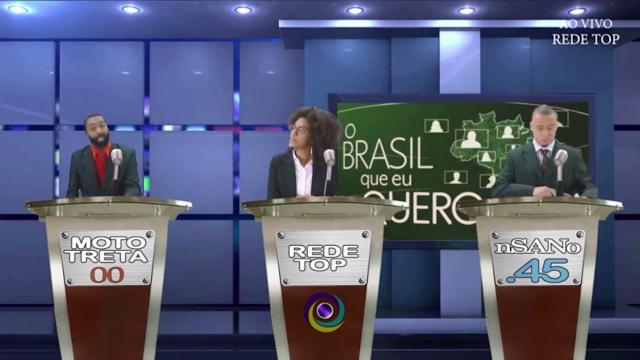"""""""Thebate"""" eleitoral inspira primeiro clipe da dupla Bundep"""