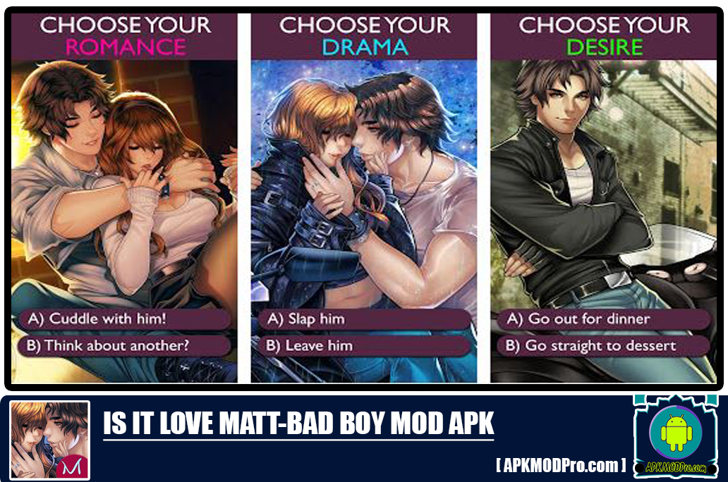Is it Love Matt - Bad Boy v.1.3.263 MOD APK [Unlimited Money/Gold/Diamond] 1
