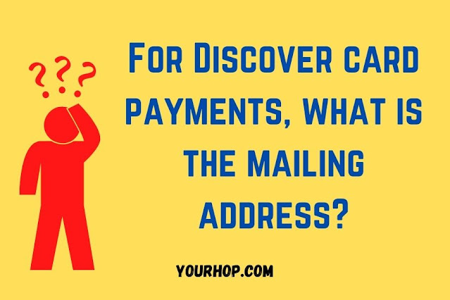 Discover Card payments