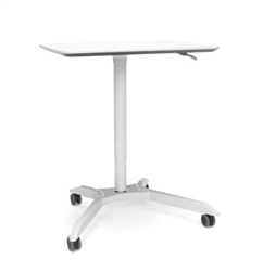 Height Adjustable Mobile Podium
