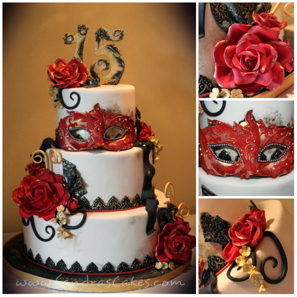 Masquerade Themed Quince Celebration