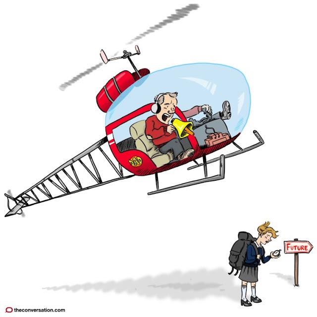 إلى كُلّ أب وأم هل أنتم آباءُ هليكوبتر؟
