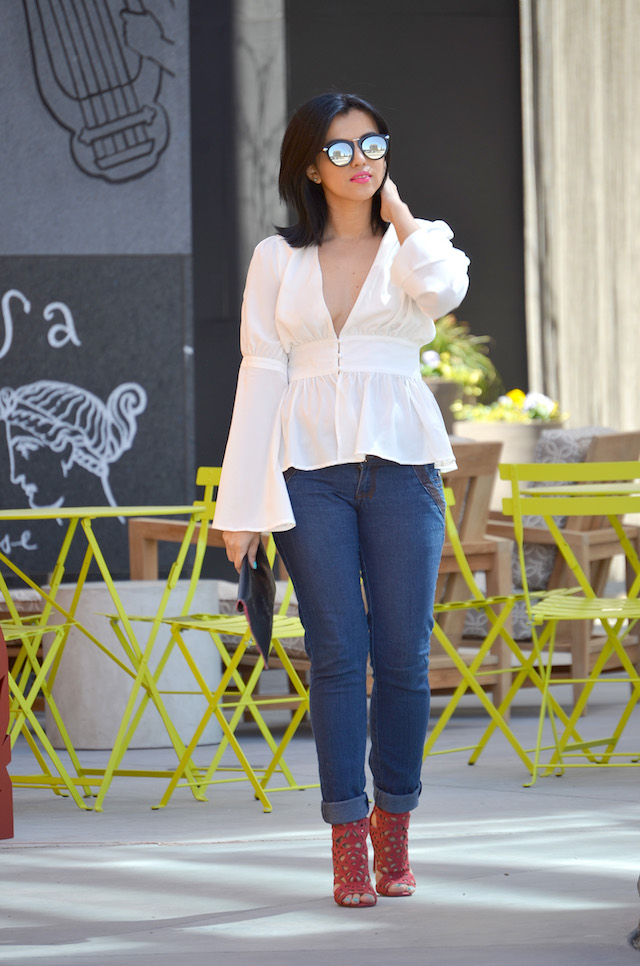 Bell Sleeves Blouse-MariEstilo-Choies-FashionBlogger-ModaElSalvador-DCBlogge