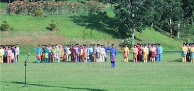 Pemkab Tanjabtim Gelar Upacara Peringatan HUT Provinsi Jambi Ke-63