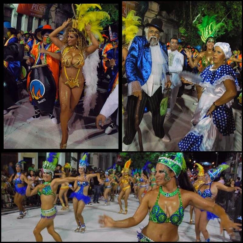 Desfile de Llamadas. Agrupación Lubola Makalé.