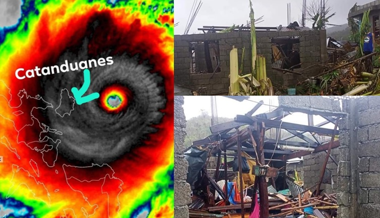 Catanduanes Update: Super Typhoon Rolly onslaught