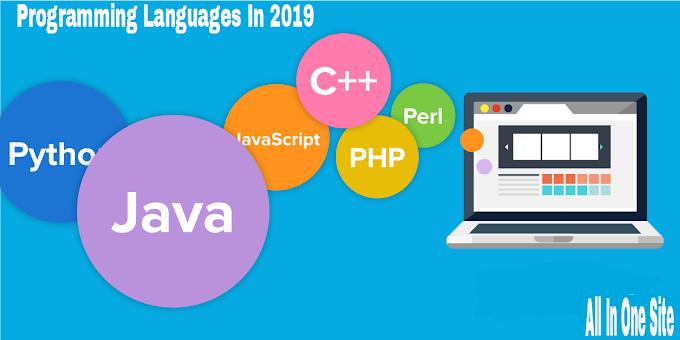 Top 5 Programming Languages In 2019
