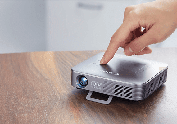 Canon Mini Wireless Projector MP250 Touchpad