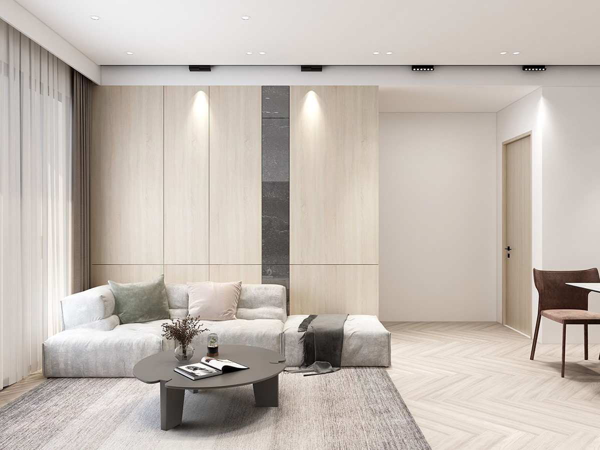 Thiết kế nội thất căn hộ Phương Đông Green Park