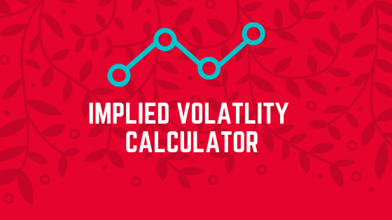 Implied volatility calculation excel sheet for nifty options?