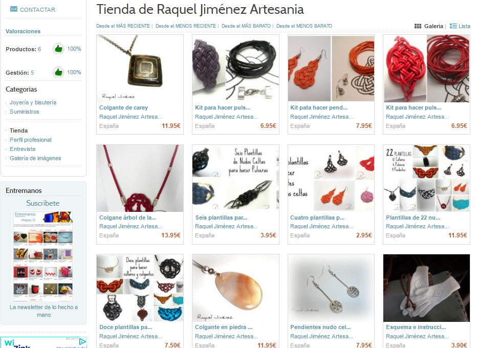 tienda shop artesanum