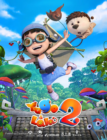 Poster Of Yugo and Lala 2 In Dual Audio Hindi Chinese 300MB Compressed Small Size Pc Movie Free Download Only At worldfree4u.com