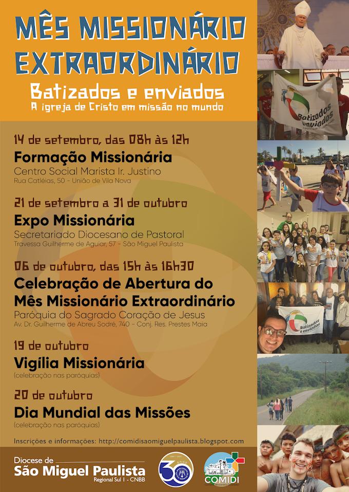Mês Missionário na Diocese de São Miguel Paulista