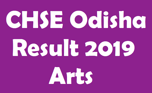 CHSE +2 Result 2019 Arts