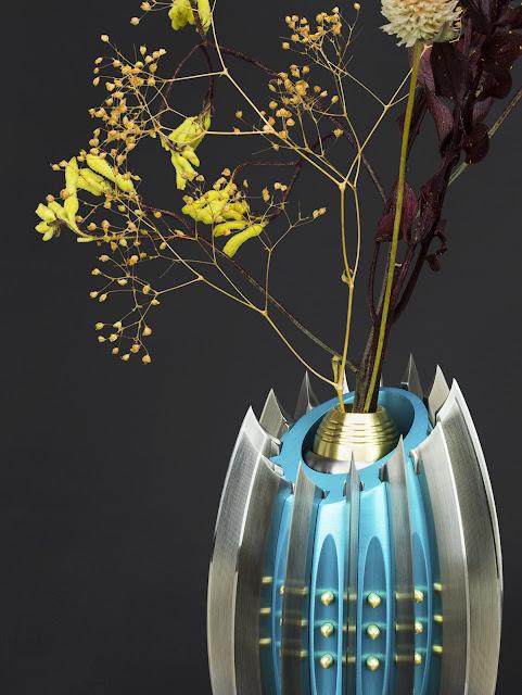 Knife, Vase, Flower Vase, CNC, Craft
