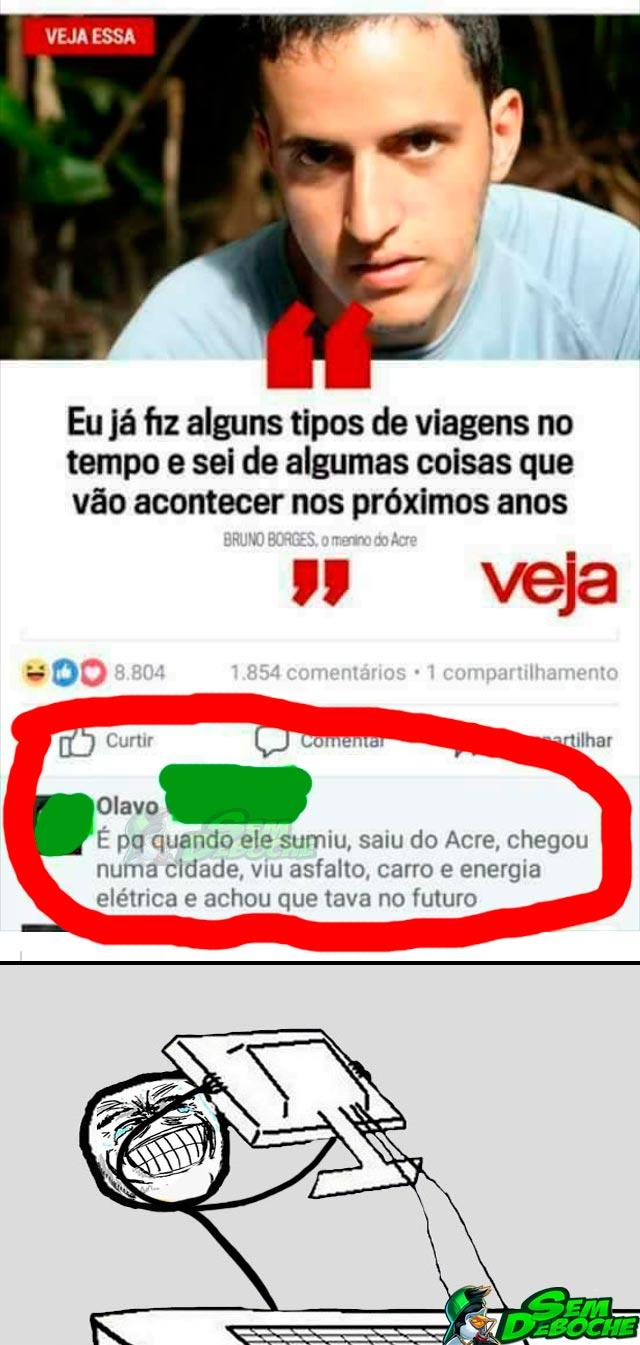 DE VOLTA PRO FUTURO VERSÃO ACRE