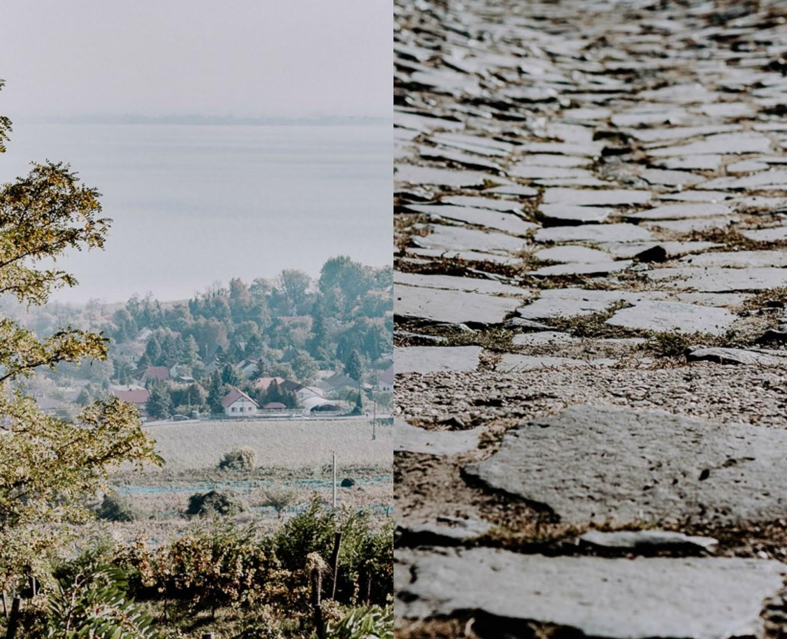 Lake Balaton in autumn