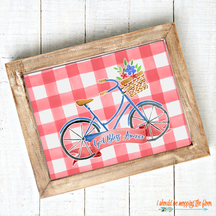 God Bless America Printables