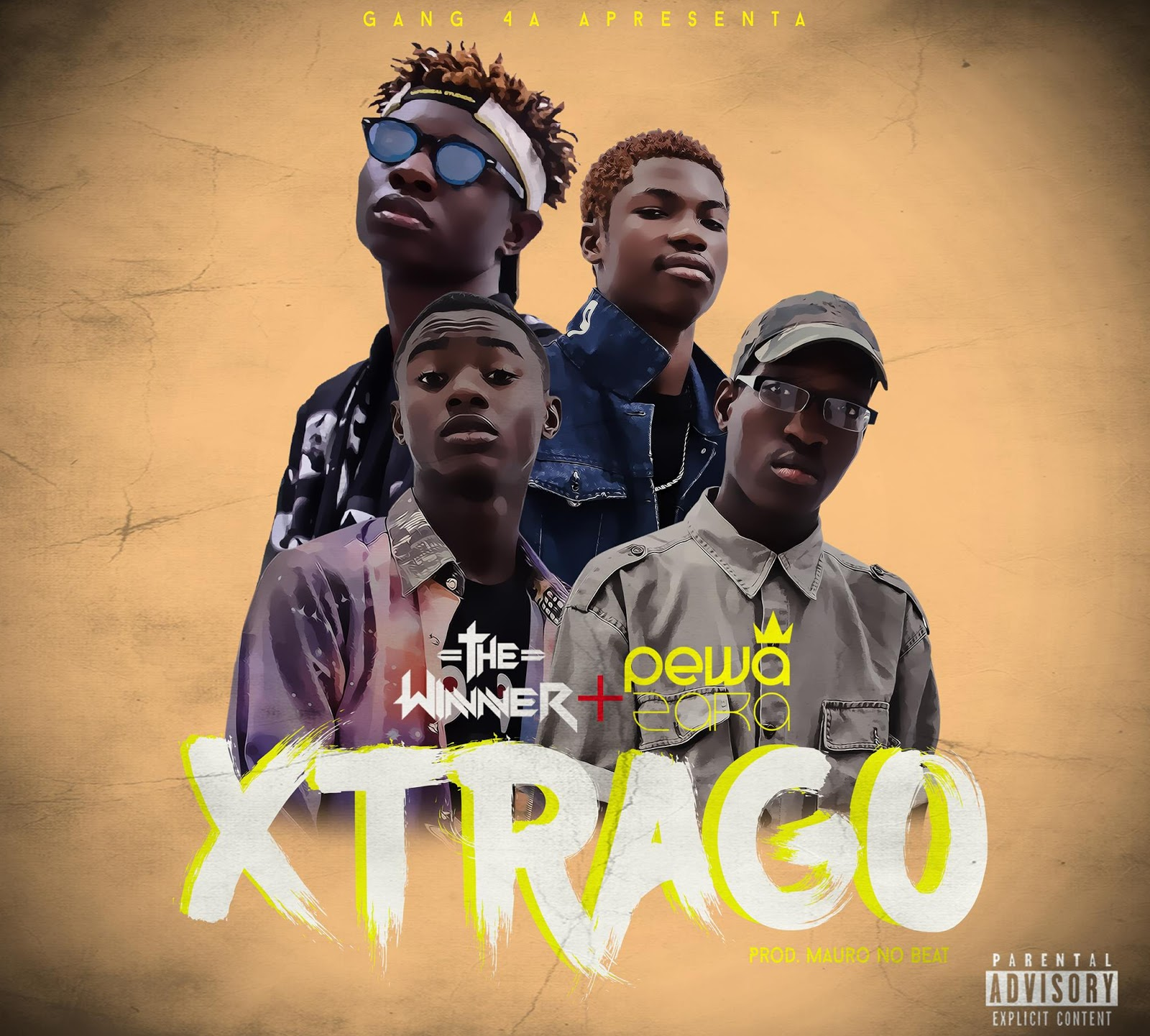 The Winner Feat. Pewa Zara - Xtrago (prod. MauroNoBeat) // Download
