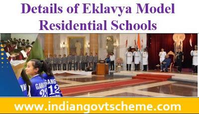 Eklavya Model Residential Schools