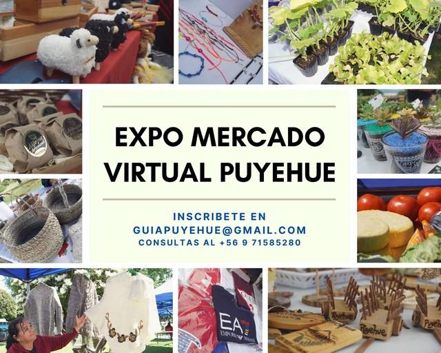 Expo mercado virtual Puyehue 2021