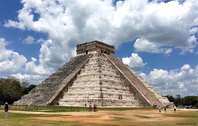 Pyramide de Chichen Itza, Yucatan, Mexique