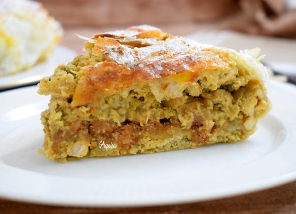 Pastela de Pollo y Almendras. Vídeo Receta