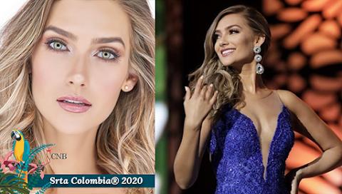 María Fernanda Aristizábal  es Señorita Colombia 2020