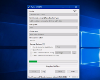 Cara Membuat USB Bootable Windows 10 Dengan Rufus