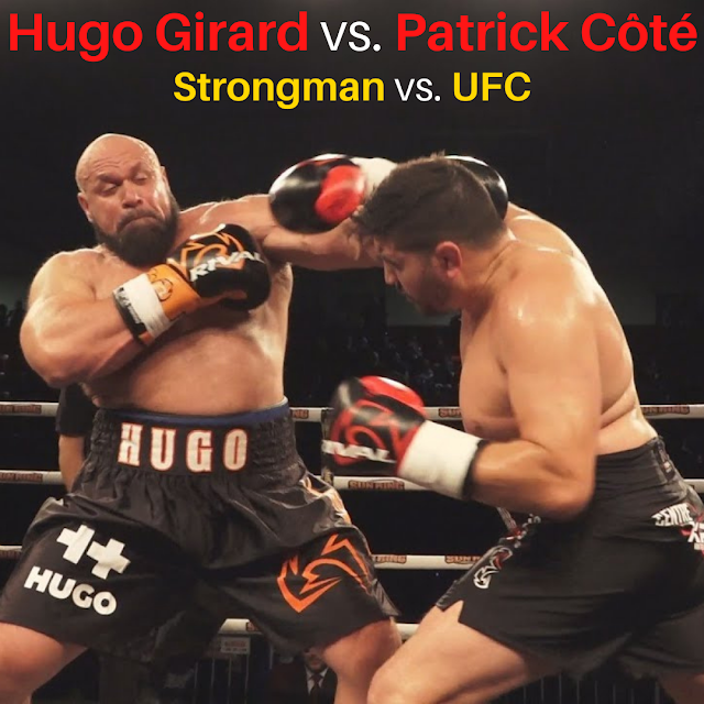 Hugo Girard vs. Patrick Côté Strongman vs Patrick Côté.  StrengthFighter.com