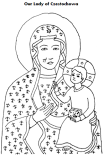 Homeschool Is Where The Heart Is: Our Lady of Czestochowa
