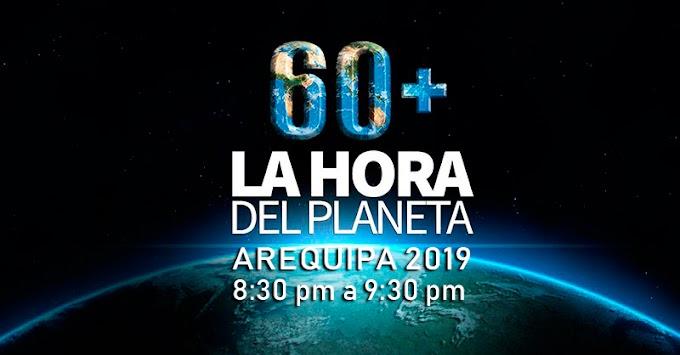 La hora del planeta, Arequipa 2019 - 30 de marzo
