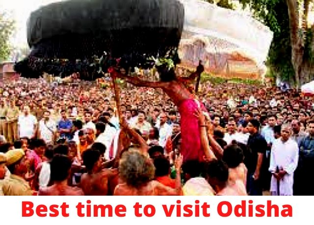 Best time to visit odisha in india