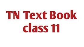 TN Text Book Class 11