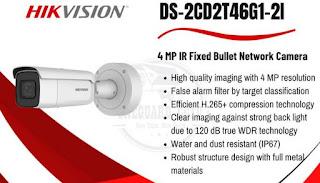 "IP Camera HIKVISION ""DS-2CD2T46G1-2I"""