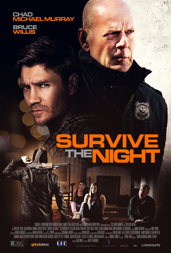 Trailer de la nueva película de Bruce Willis, Survive the Night