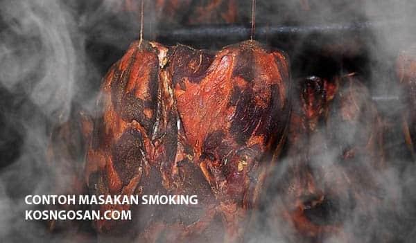 contoh masakan smoking