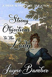 Book cover: Strong Objections to the Lady by Jayne Bamber