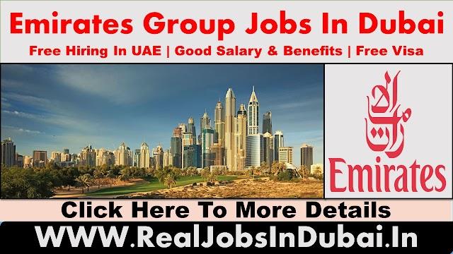 Emirates Group Jobs In Dubai - UAE 2021