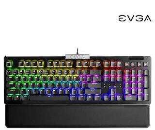 $50, EVGA Z15 RGB Backlit Gaming Keyboard w/ Kailh Speed Bronze Switches