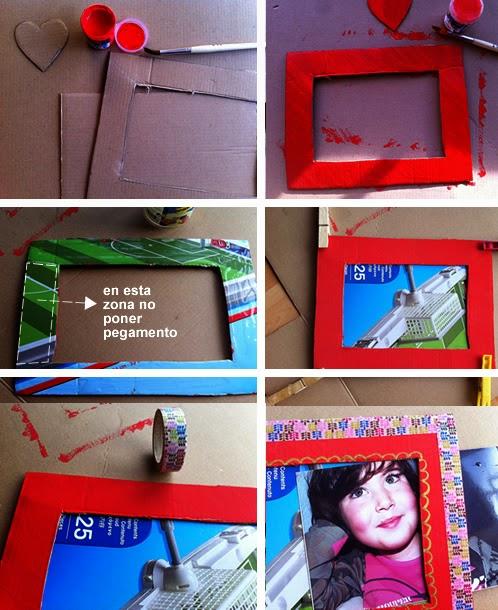 porta retratos artesanais