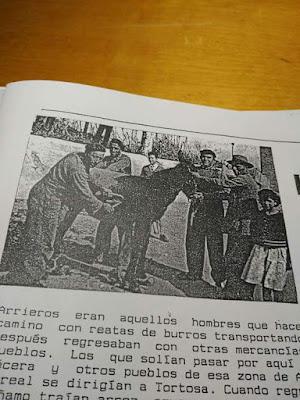 Arrieros , Valjunquera, Mirablanc, revista, traducsió, Luis Arrufat