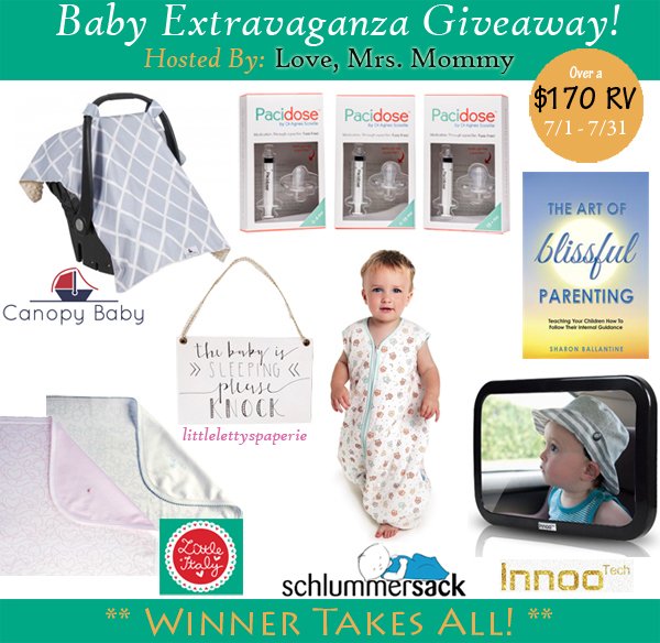 Love, Mrs Mommy is Hosting A Baby Extravaganza Giveaway!