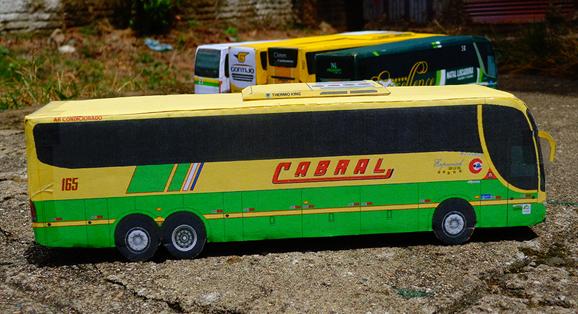 Marcopolo Paradiso G6 1200 Scania da Cabral é confeccionado