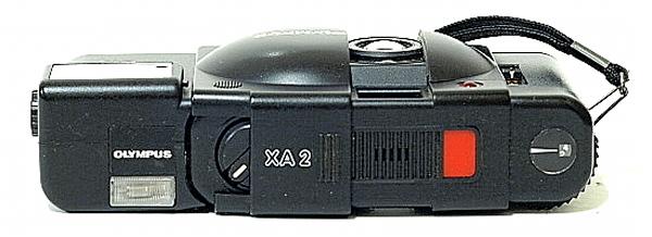 Olympus XA 2, Top