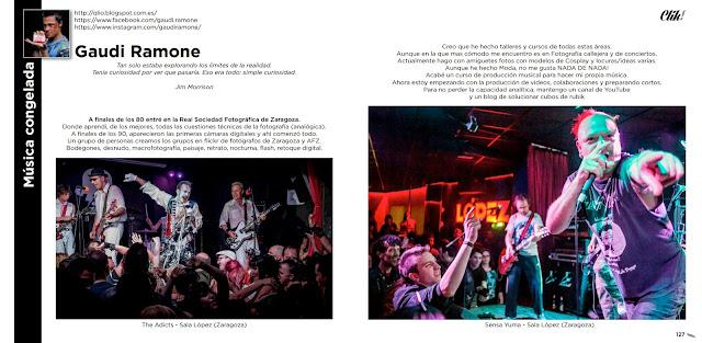 Revista el Clik Reportaje Gaudiramone