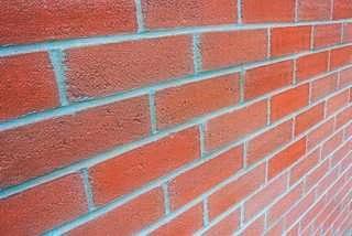 Soaking bricks, masonry work