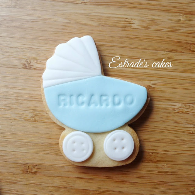 galletas de carritos para bautizo 1